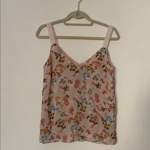 Massimo Dutti- Flowy top with floral print